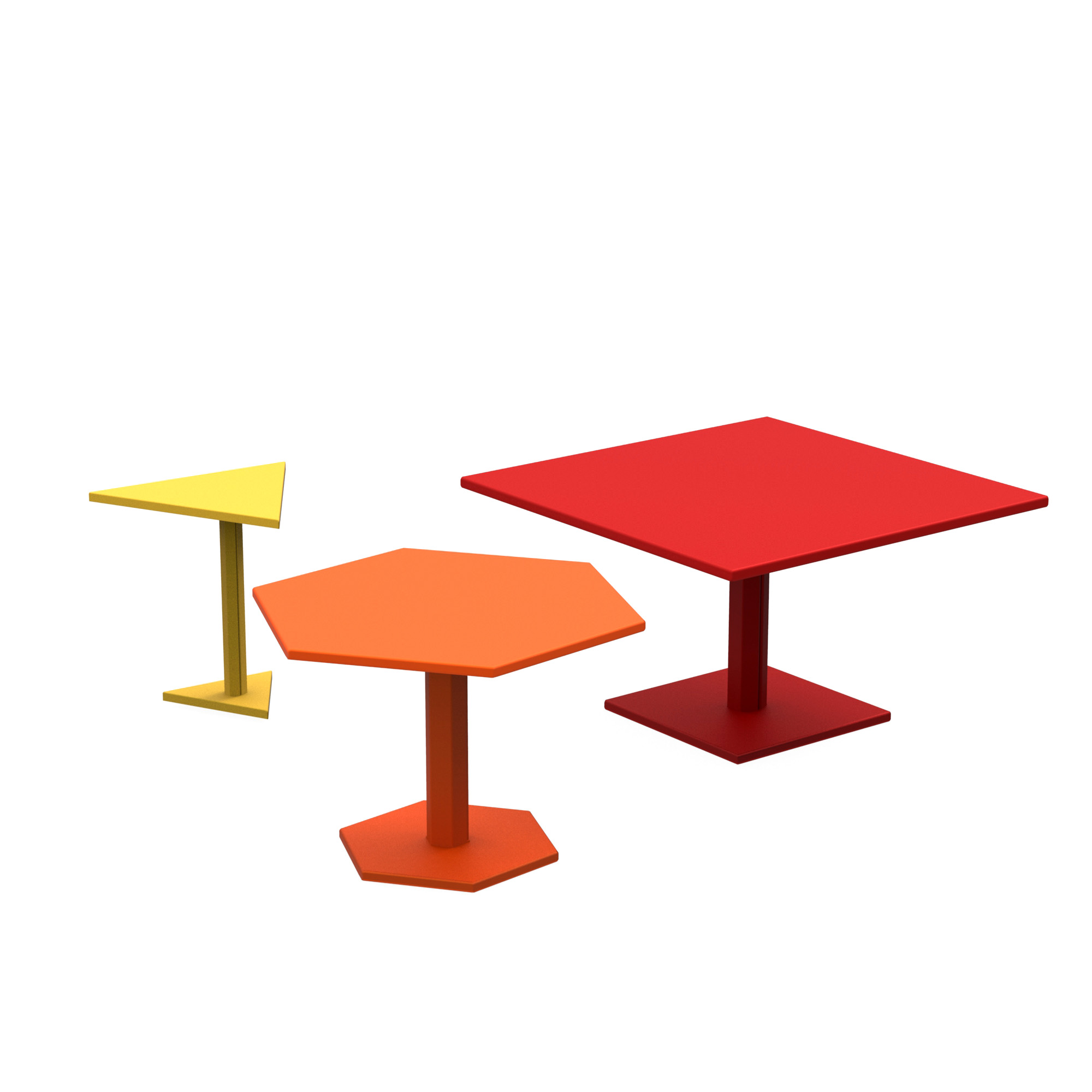 Tables Basses Hexagone ZHED