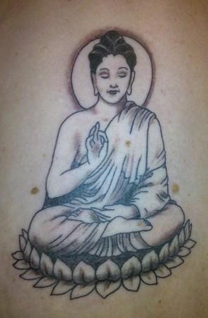 Blaze Schwaller - Buddha Tattoo
