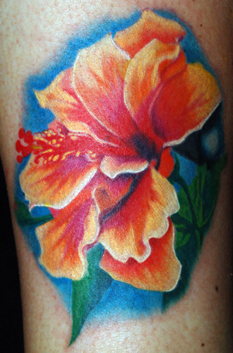 Keith Ciaramello - Hibiscus Large Image. Keyword Galleries: Color Tattoos,