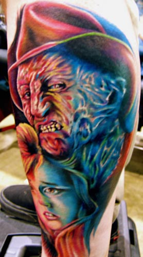 Movie Horror Tattoos, Realistic Tattoos, Celebrity Tattoos,