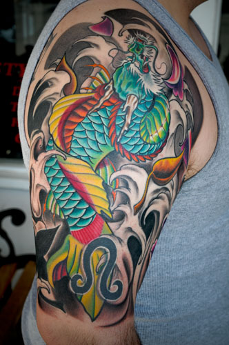 Tattoos. Tattoos Traditional Japanese Dragon. untitled