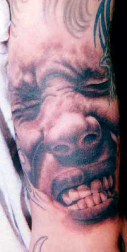 3D Tattoo Style