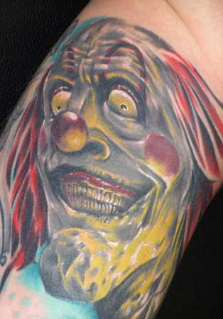You often see the funny or just full clown tattoos. Tattoos · Page 170.