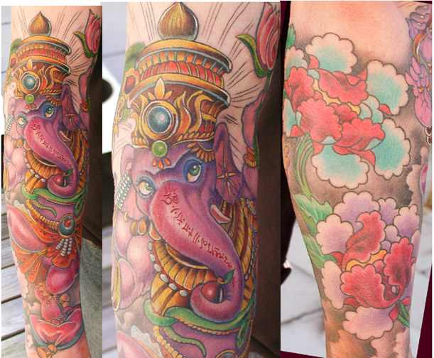 Tattoo Galleries: Ganesha Tattoo Design