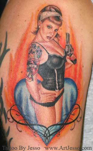 Keyword Galleries: Color Tattoos, Portrait Tattoos, Pin Up Tattoos,