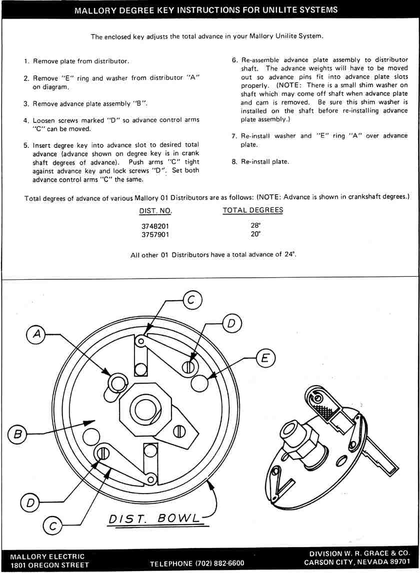 Mallory Unilite 3748201 Wiring Diagram Wiring Diagrams