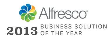 Alfresco Partner Solution of the Year 2013