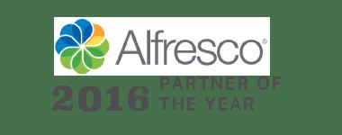 Alfresco Partner of the Year 2016