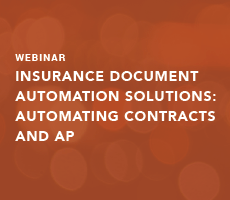 Insurance Document Automation Solutions: Automating Contracts and AP