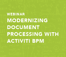 Modernizing Document Processing with Activiti BPM