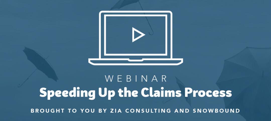 Webinar Speeding up the Claims Process