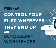Control Your Files Wherever They End Up With BlackBerry Workspaces