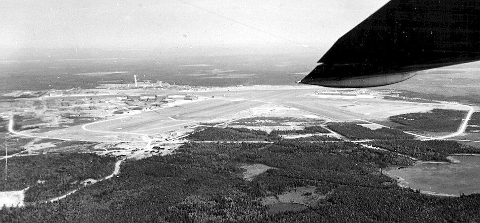 Image result for gander airport nova scotia 1946
