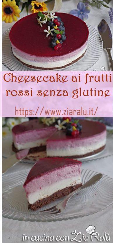 cheesecake senza glutine