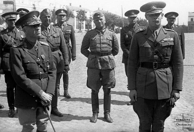 Maresalul Ion Antonescu si Regele Mihai la Chisinau - Ziaristi Online