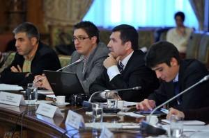 Vlad Cubreacov la Bucuresti in Senatul Romaniei la Conferinta despre Cetatenie Nov 2013