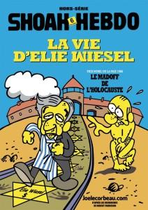 Elie Wiesel vazut de Revista Charlie Hebdo