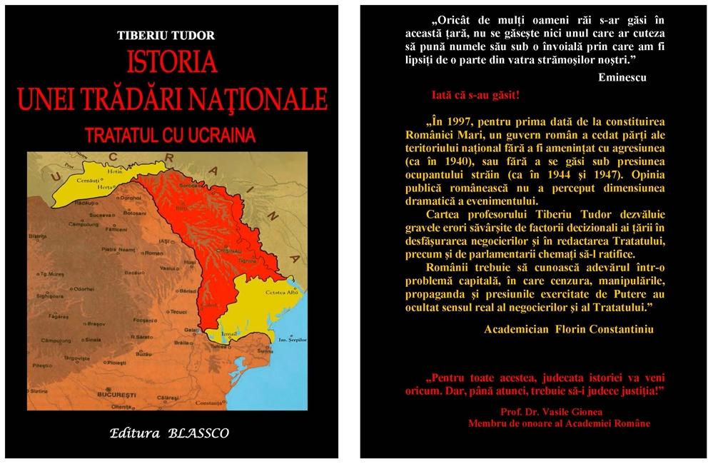 Istoria unei Tradari nationale - Tratatul cu Ucraina - Tiberiu Tudor