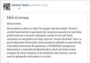 Vasile Jacques Iamandi versus Dan Puric