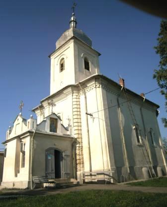 Istoria bisericii de la Secuieni, în piciorul altarului