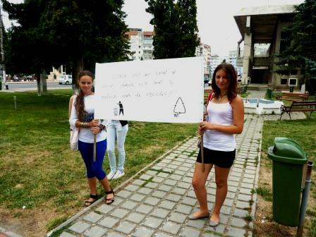 Voluntarii romașcani protejează mediul