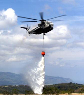 Elicopter pentru stingerea incendiilor