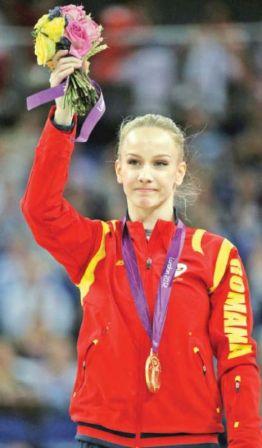 Sandra Izbașa, aur pentru România la Olimpiadă