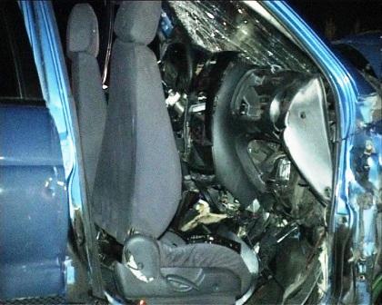 Accident cu șapte victime pe E85