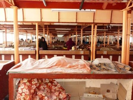 Viscolul golește piețele din Roman de marfă