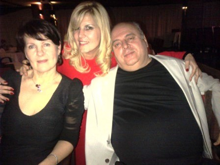 Elena Udrea a petrecut cu prietenii din Roman