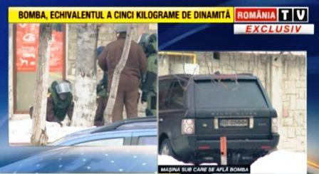 Atentat mafiot dejucat la Piatra-Neamț