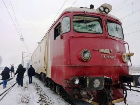 Accident feroviar la Secuieni