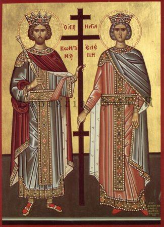 Împărații Constantin și Elena, sărbătoriți la Roman