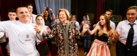 Baroneasa Emma Nicholson a venit în Neamț