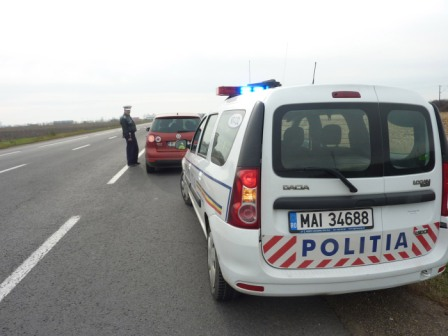 Un jurnalist a testat vigilența polițiștilor rutieri