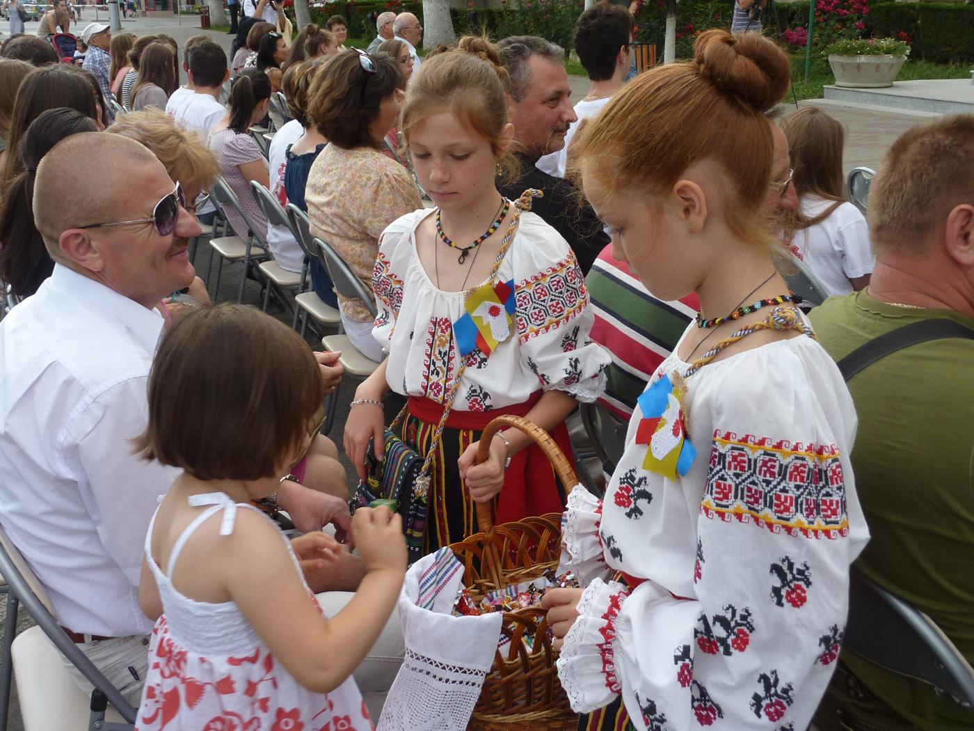 Copiii basarabeni s-au simțit la Roman ca acasă