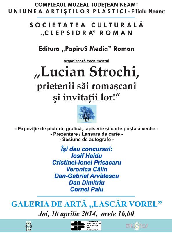Artiştii romaşcani sunt invitaţi la Piatra Neamţ