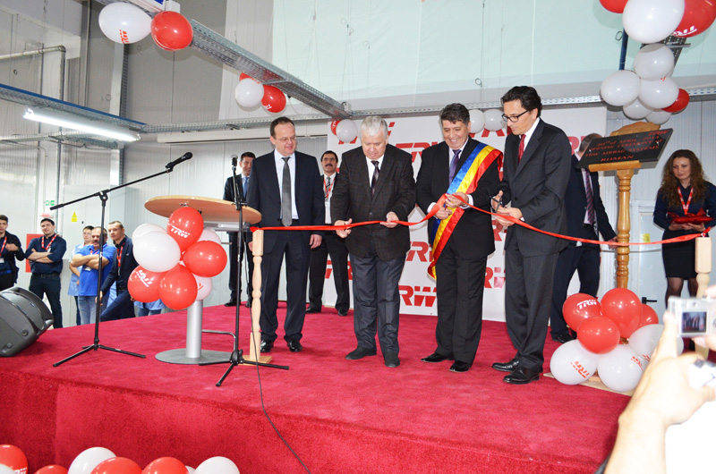 Preşedintele României a inaugurat fabrica TRW Roman