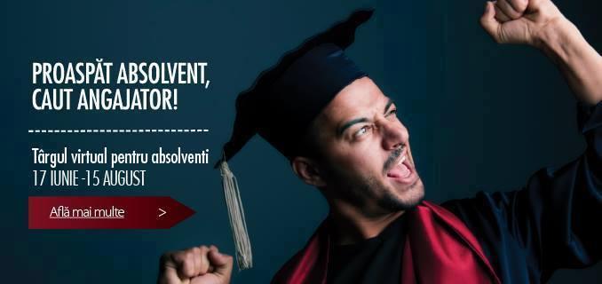 Oportunităţi de carieră pentru absolvenţii promoţiei 2014