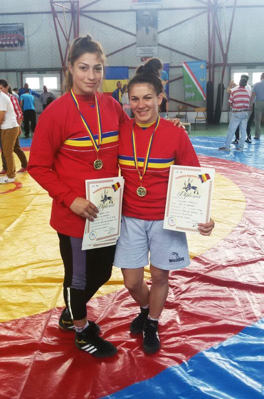 Mădălina Linguraru şi Anca Petrea sunt campioane naţionale la lupte