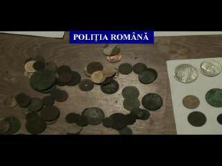 Polițişti în căutare de artefacte