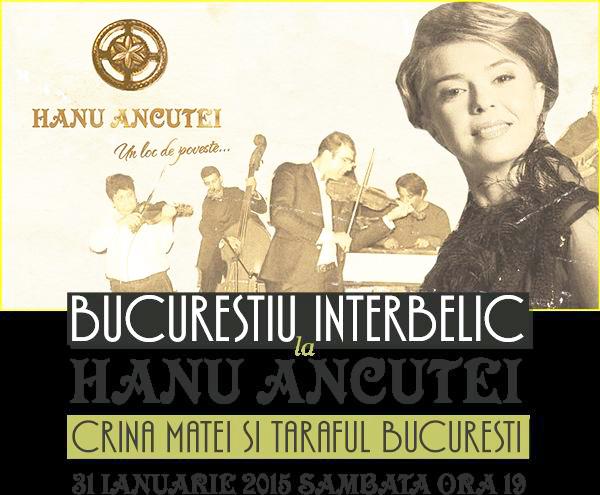 Bucureştiul Interbelic, la Hanu Ancuței