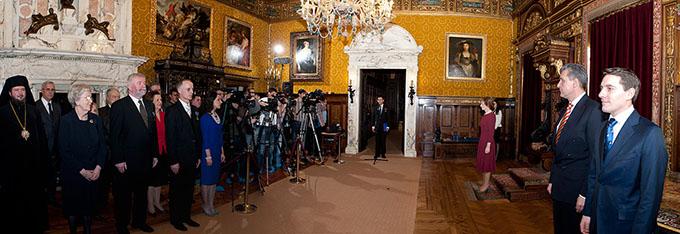 Andrei Dimitriu a fost decorat de Casa Regală a României