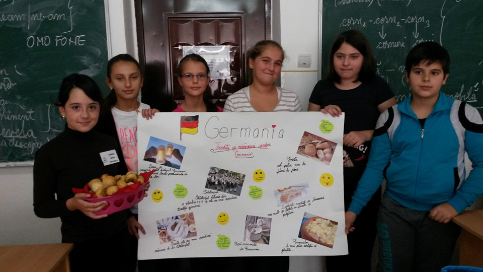 Micii romanvodişti au descoperit istoria şi tradițiile Germaniei