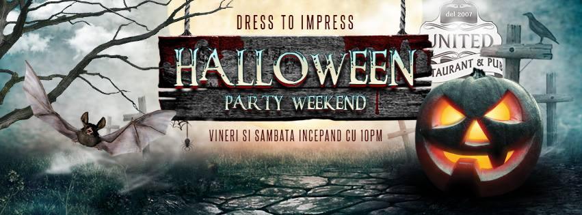 Halloween-ul este sărbătorit în cluburile romaşcane