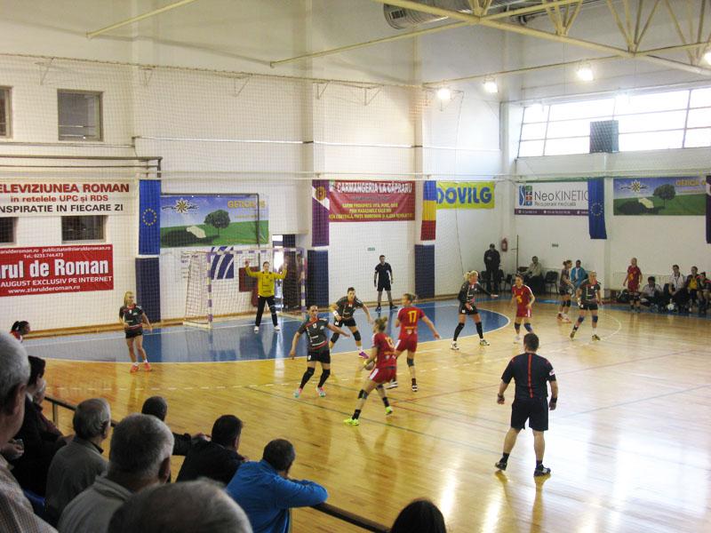 HCM Roman a învins HC Alba Sebeş