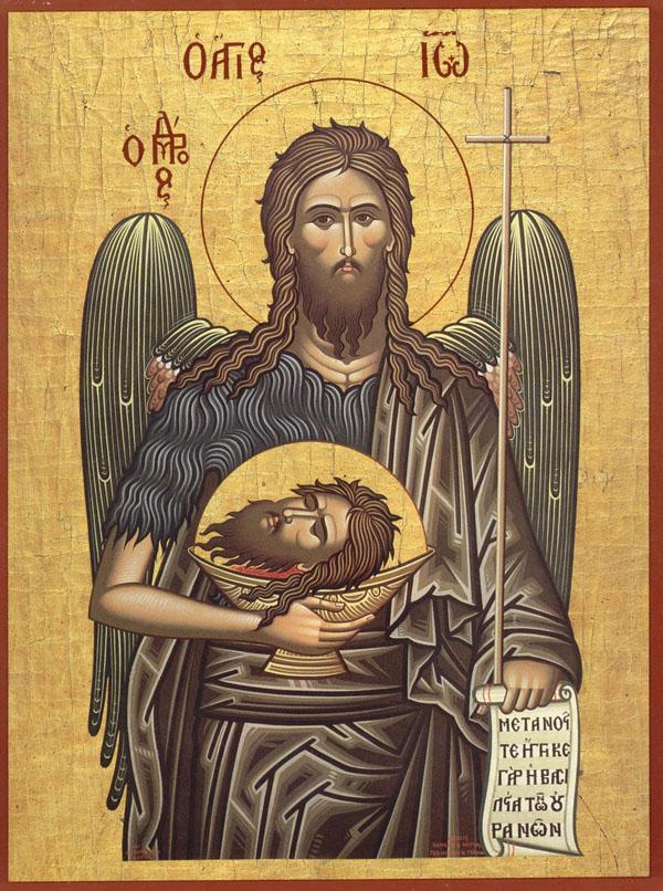 Creştinii ortodocşi îl cinstesc pe sfântul Ioan Botezătorul