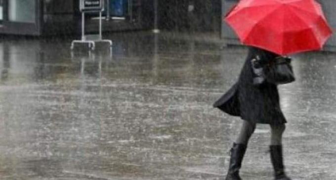 Județul Neamț, sub avertizare cod galben de ploi până marți seară