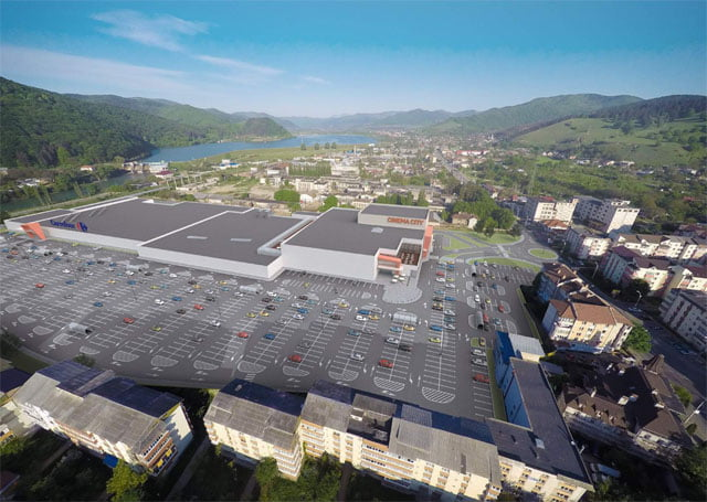 [FOTO] Shopping City Mall Piatra Neamţ, inaugurat până la finalul anului 2016