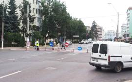circulatie blocata centru RomanMusat